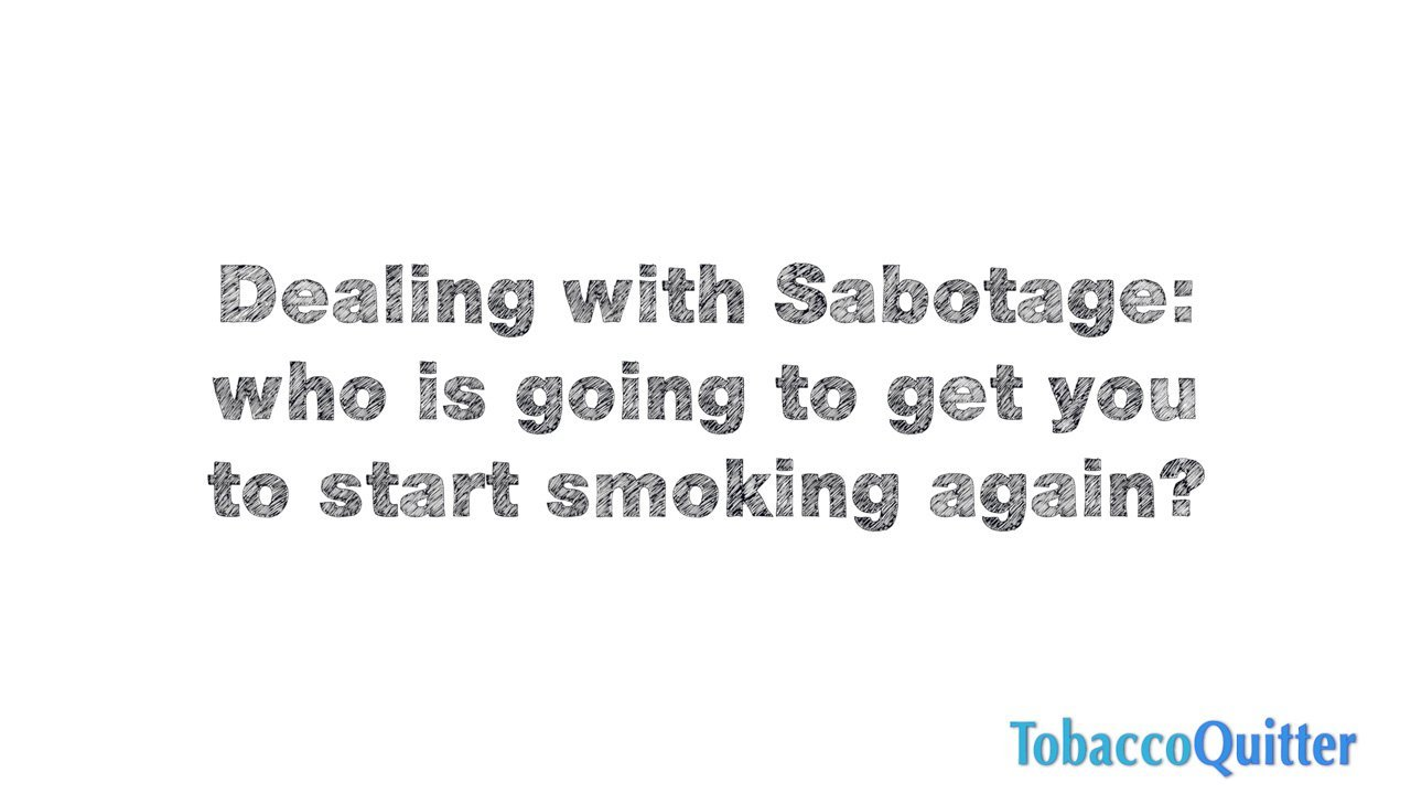 Dealing with Sabotage