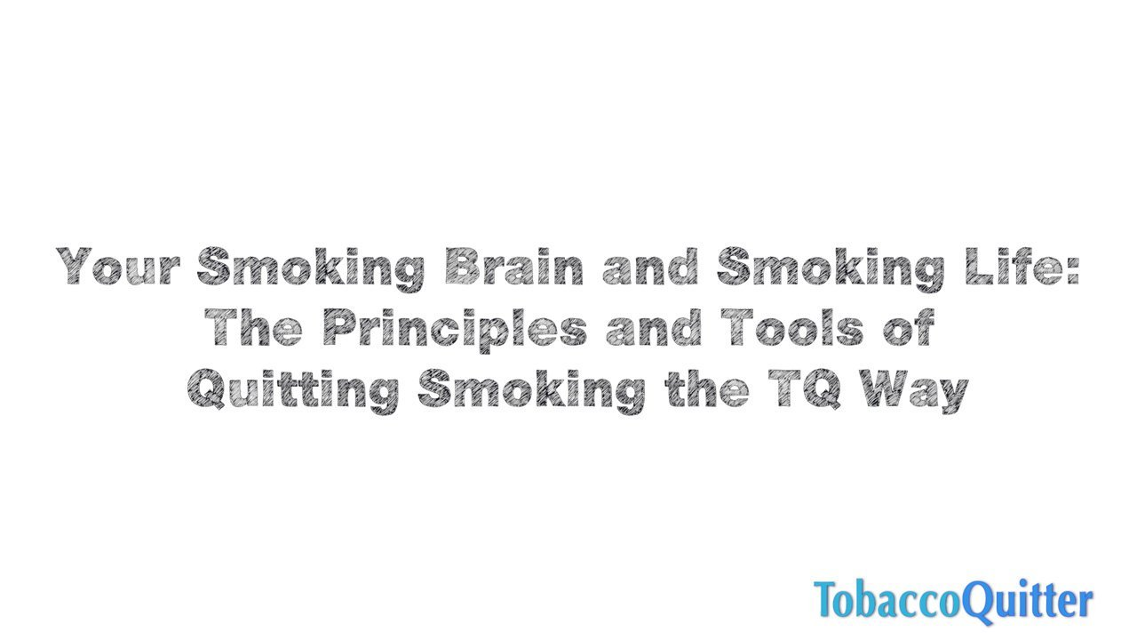The Three Principles of Quitting the TQ Way